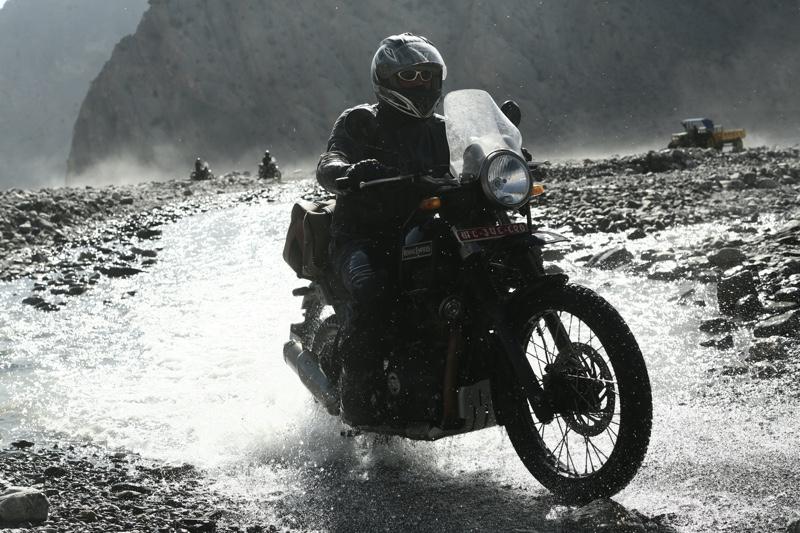 Motorbike road trip Nepal